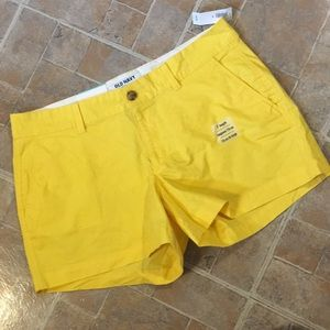 NWT Old Navy cotton shorts size women's 10